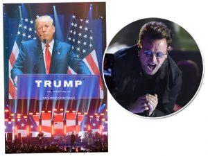Bono entra na briga das eleições presidenciais nos Estados Unidos
