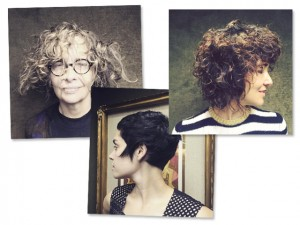 Adriana Varejão cede ao corte de cabelo cheio de atitude de Neandro Ferreira