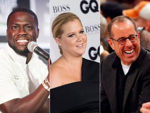 O prêmio de comediante mais bem pago do mundo vai para…