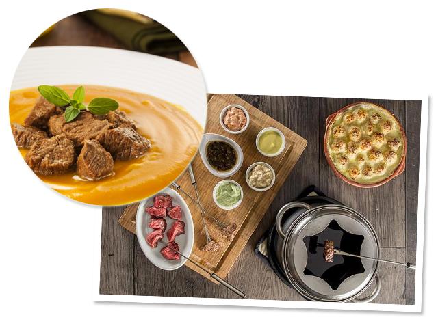 Curso de fondues e sopas Friboi é pedida certa para as noites frias    Créditos: Divulgação