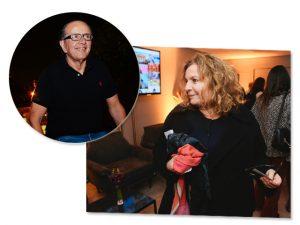 Joyce Pascowitch arma jantar pelos 10 anos da Revista J.P chez David Bastos