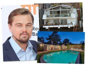 DiCaprio coloca duas mansões à venda em LA em uma tacada só