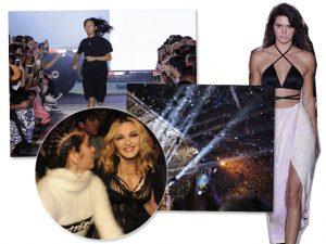 Madonna e Lourdes Maria roubam a cena em desfile de Alexander Wang em NY