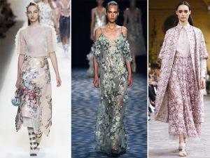 Florais direto das semanas de moda para dar start na primavera