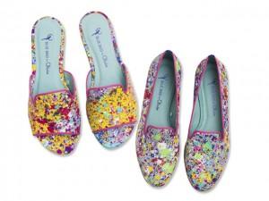 Desejo do Dia: arte nos pés com os modelos Blue Bird por Olivia Lambiasi