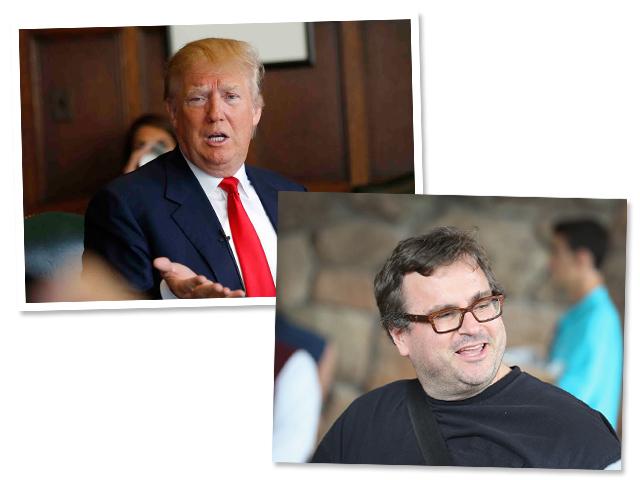 Donald Trump x Reid Hoffman