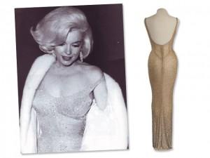 Vestido usado por Marilyn Monroe para cantar no aniversário de JFK vai a leilão