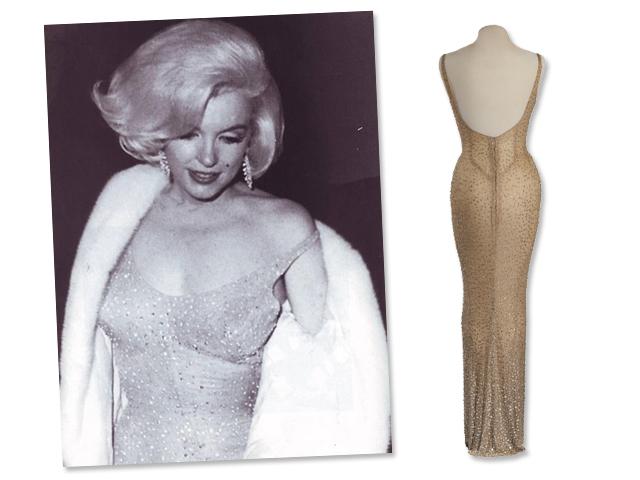 Vestido usada por Marlyn Moonre no aniversário do presidente Kennedy em 1962 vai à leilão em Los Angeles