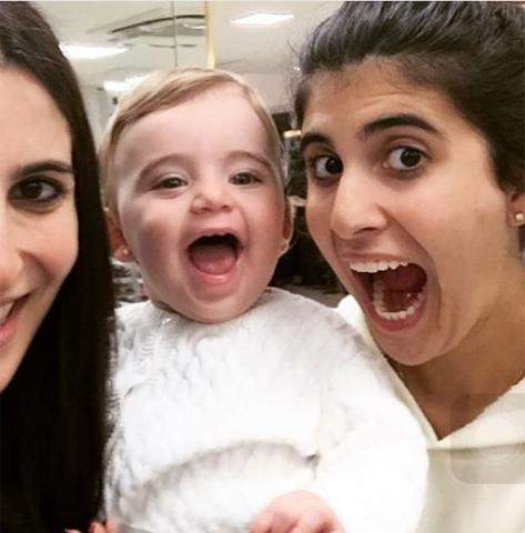 Clique de Duda, Georgina e Sofia Derani    Créditos: Reprodução Instagram