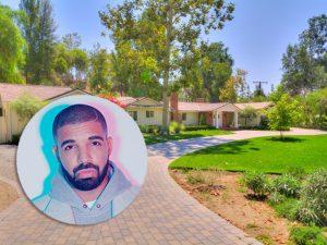 Drake se inspira em sua própria música e compra mansão de seu vizinho. Oi?