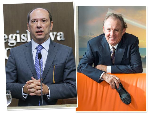 Ivo Gomes e Alexandre Grendene Bartelle