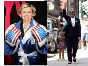 Teoria da conspiração diz que Hillary Clinton teria uma sósia. Oi?