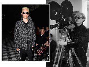 Jared Leto ataca de novo no cinema, e agora na pele de Andy Warhol