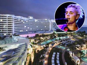 Uma coisa é certa na virada do ano em Miami: a presença de Justin Bieber