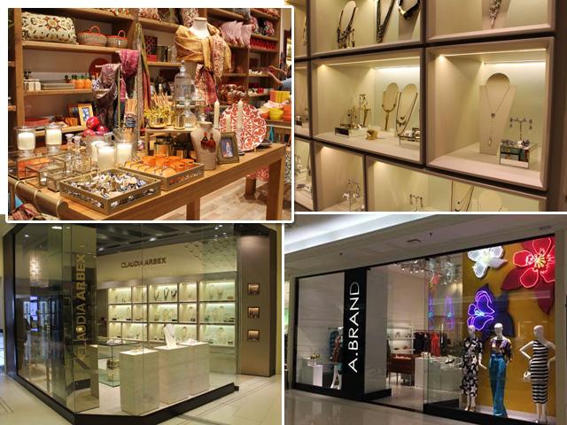 As lojas A. Brand, Claudia Arbex e SouQ, recém inauguradas no Shopping Pátio  Higienópolis    Créditos  Divulgação ce8f3f2d32