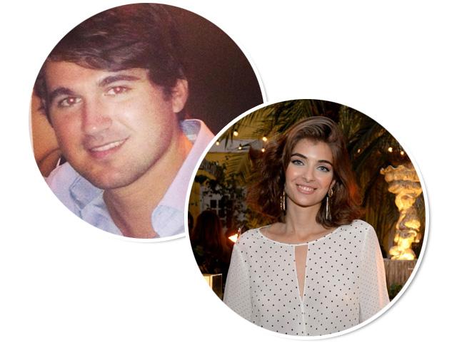 Lucas Câmara e Maria Frering