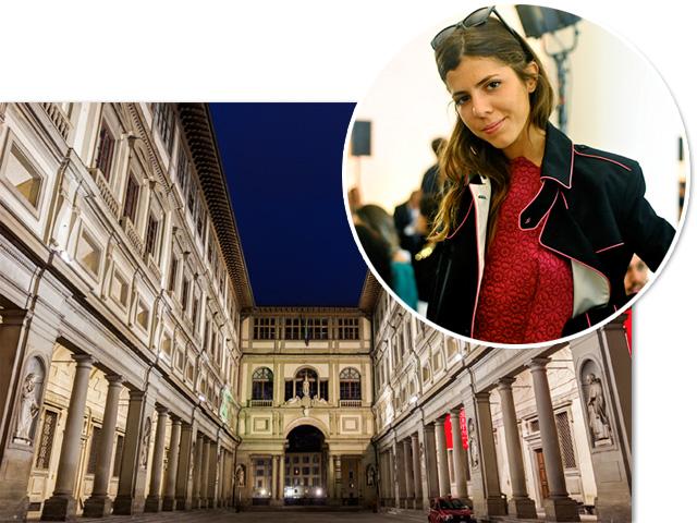 A Galeria Uffizi será palco da festa que Maria Sole Cecchi arma para celebrar a primeira loja da Les Petits Joueurs! Créditos: iStock e Bruna Guerra