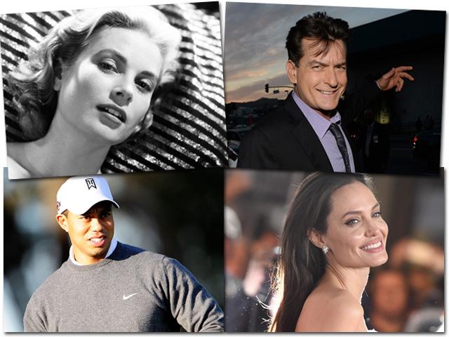 Grace Kelly, Angelina Jolie