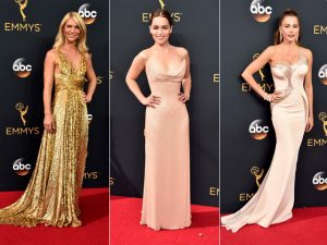 "Estilo ""old Hollywood"" domina o red carpet da 68ª edição do Emmy. Aos looks!"