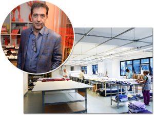 Ricardo Almeida inaugura fábrica no Bom Retiro com desfile