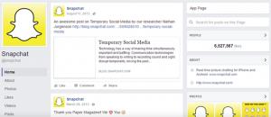 Instagram anuncia mudanças e Snapchat exclui página no Facebook