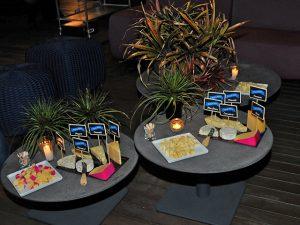 No jantar da Revista J.P chez David Bastos, queijos Faixa Azul reinaram na mesa