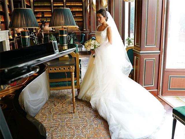 A noiva Marina Aricó