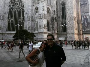 Luciana Cardoso e Fausto Silva celebram 15 anos de união