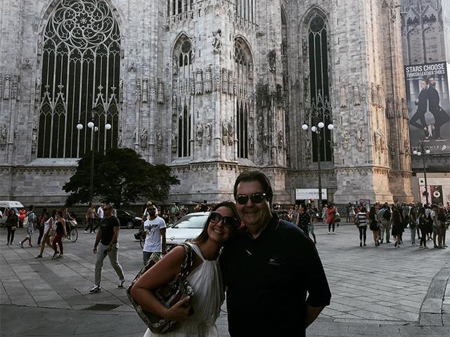 Luciana Cardoso e Fausto Silva celebram 15 anos de união via Instagram || Créditos: Reprodução Instagram