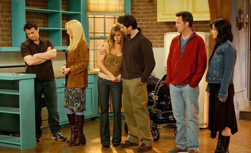 Resultado de imagem para último episodio de friends