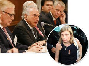 Zélia Cardoso de Mello assistiu a discurso de Michel Temer em NY