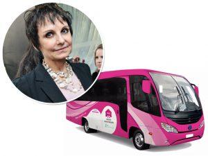 Circuito Casa da Mulher tem ônibus para a prevenção do câncer de mama