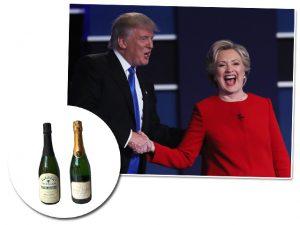 Trump e Hillary têm ao menos uma coisa em comum: vinhos ruins