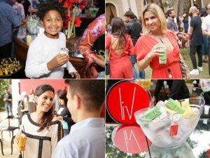 Entre brindes e risos, muitos drinks Liv no aniversário de 10 anos da J.P