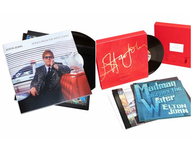 Box com criado pela Burberry comvinis de Elton John || Crédito: Divulgação