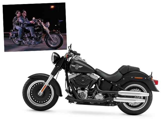 2010 FLSTFB Softail Fat Boy Special, INTERNATIONAL ONLY, right broadside
