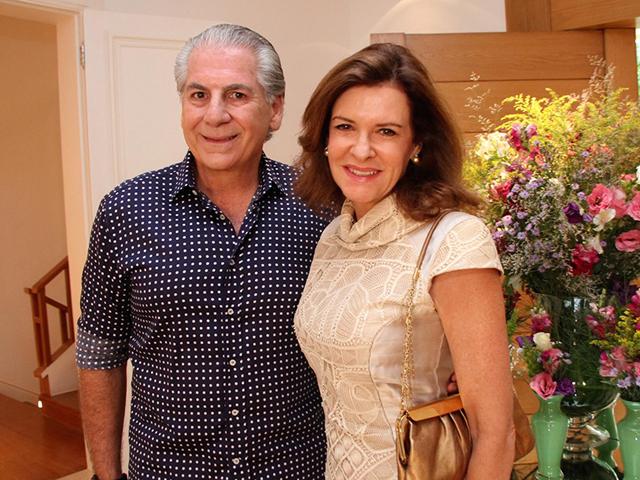 Marcelo e Rosana Cunha Créditos: Denise Andrade / Divulgação