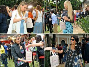 Capezio presenteou glamurettes Festa de 10 anos da Revista J.P por Bradesco
