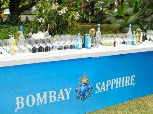 Bombay Sapphire marca presença na Festa de 10 anos da Revista J.P por Bradesco