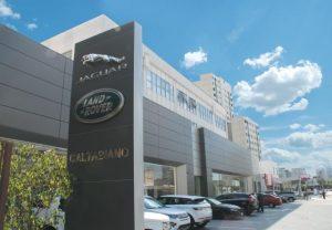 Caltabiano põe Jaguar e Land Rover em novíssimo espaço em SP