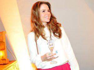 Martini garantiu os brindes no encontro da Casa Glamurama no projeto Lado B