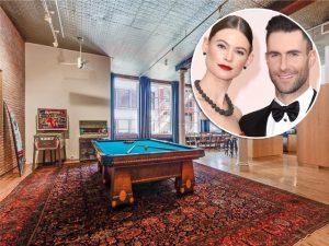 Adam Levine e Behati Prinsloo vendem loft em meio a rumores de separação