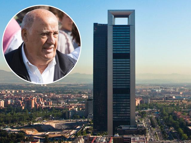 Amancio Ortega e a Torre Cepsa