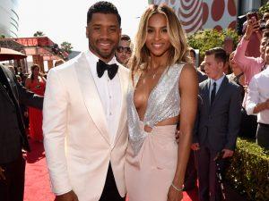 Confirmado! Ciara está grávida do jogador da NFL Russell Wilson
