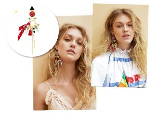 Juliana Jabour e Maria Dolores criam coleção de bijoux a quatro mãos