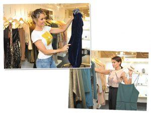 Glamurettes na produção para a Festa de 10 anos da Revista JP por Bradesco