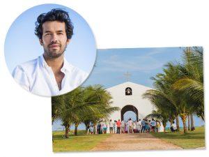 Maurício Vasconcelos constrói capela para casamento dos sonhos em Milagres