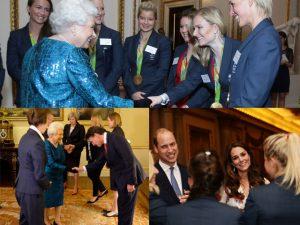 Elizabeth II abre palácio para atletas da Rio 2016 e ainda comete uma gafe
