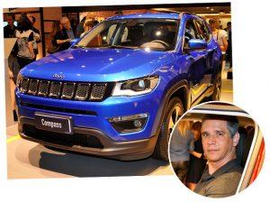 Márcio Garcia entrega paixão por Jeep em noite de lançamento da marca
