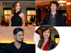 Adriana Birolli e Eriberto Leão na inauguração de steak house no Rio